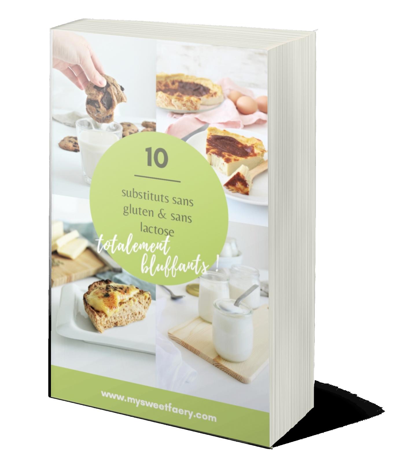 Recevez mon e-book de 10 recettes sans gluten ni lait
